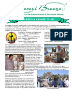 2003 Year End Desert Breeze Newsletter, Tucson Cactus & Succulent Society