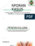 Laporan Kasus Mini Hemoroid Ppt