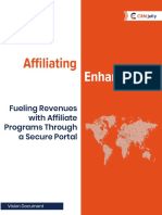 Fueling Revenues with Affiliate Programs Through a Secure Portal