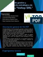 Esquema de Gestión  de VALTOP SRL