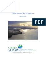 Green Shores Project Charter Example