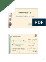 Capítulo 8 - Líneas de Influencia en Vigas.pdf