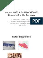 Contexto de la desaparición de Rosendo Radilla Pacheco y VDH militares.pptx
