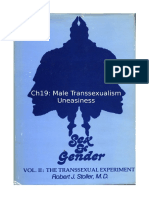 Stoller Ch19 - The Transsexual Experiment - Chapter 19 Male Transsexualism