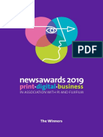 Newsawards Winners 2019