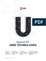 Raportul IPO Uber Technologies