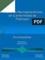 Trastornos No Motores en La Enfermedad de Parkinson