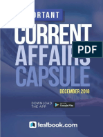 Important Current Affairs December 2018 Capsule New d337f9ca
