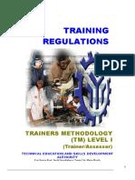 TR-Trainers Methodology Level I