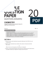 Isucceed Sample Question Paper 20 Chemistry 12