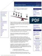 Amsup.com - Quality Engineering With Taguchi Methods