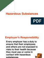 Hazardous Substances TBT