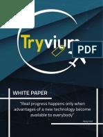 Updated Tryvium Whitepaper