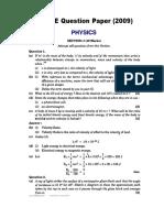 SolvedPHYSICS2009.pdf