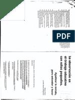 Feder v y Maquieira l.s. La Observacion en Le Trabajo Educativo Con Nin Os Pequen Os (1)