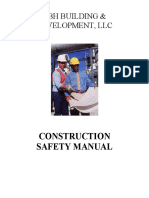 Construction Safety and Health Manual