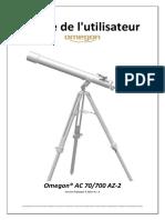 20643 3 FR Instructions Manual Omegon 70700 AZ 2