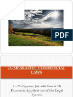 Notes on Comparative Commercial Laws