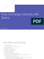 3 - How Exchange Interacts With Teams