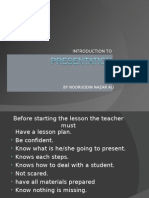 how to present a successful PRESENTATION?