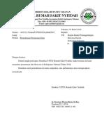 Surat Permohonan Data Ke BNPB