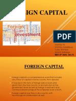 Foreign Capital