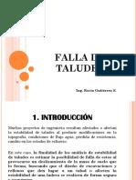 Falla de Taludes