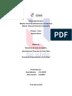 Informe # 3. Fuentes de Financiamiento a Corto Plazo