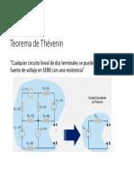 Unidad 3 y 4 del curso de circuitos eléctricos