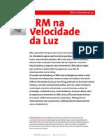 Artigo - CRM na velocidade da Luz.pdf