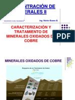 Minerales oxidados de cobre