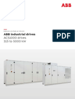 ACS1000 Medium Voltage Drive Catalog 3BHT490400R0001 RevK En