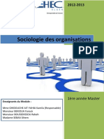 Cours Sociologie Des Organisations (1)