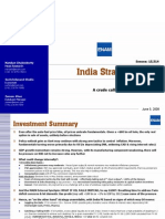 India Strategy Report