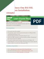 SAP_Business_One_B1i_SSL_Integration_Installation.docx