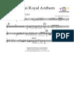 Thai Royal Anthem - Trumpet in Bb 2 - 2012-11-14 1512 - Trumpet in Bb 2