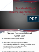 Sustainability of Quality Improvement