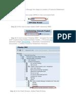 FSV Documents Reference