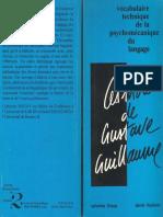 Catherine Douay_Daniel Roulland - Le Mots de Gustave Guillaume [1990]