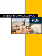 Mineria Informal Regional