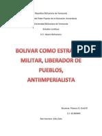 Bolivar antiimperialista
