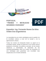 Portugal Congreso Iberoamericano de Ingeniería Civil