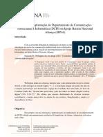 Implantação do Setor de Publicidade, Marketing e Informática na IBNA.docx