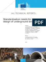 [PECKER] Standardisation Needs for the Design of Underground Structures