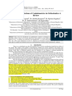 Diagnostic Limitations of Cephalometrics in Orthodontics