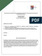 """Determinación de La Duración de La Lluvia Del Hidrograma Unitario """"Td"""""""
