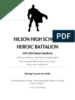 hilson high school student handbook