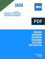 YAMAHA RS90RK SNOWMOBILE Service Repair Manual.PDF