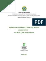Manual de Segurança e Boas Práticas de Laboratório
