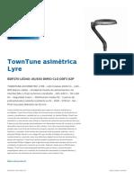 TownTuneLyre asimétrica